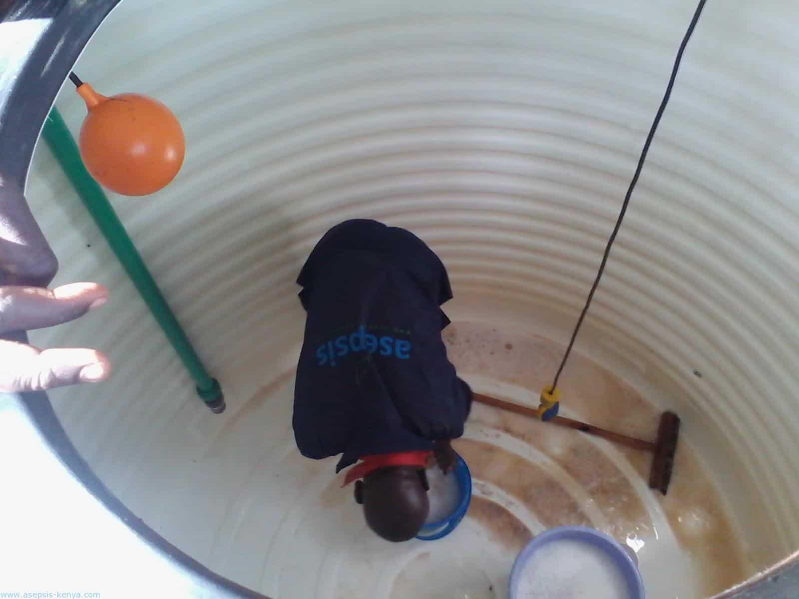 طرق تنظيف خزانات المياه في المنازل, شركة ركن نجد