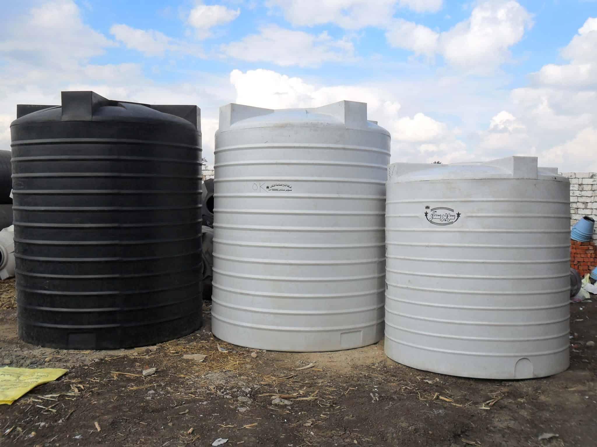 خزانات مياه الشرب - غسيل خزانات مياه الشرب مع التعقيم والتطهير