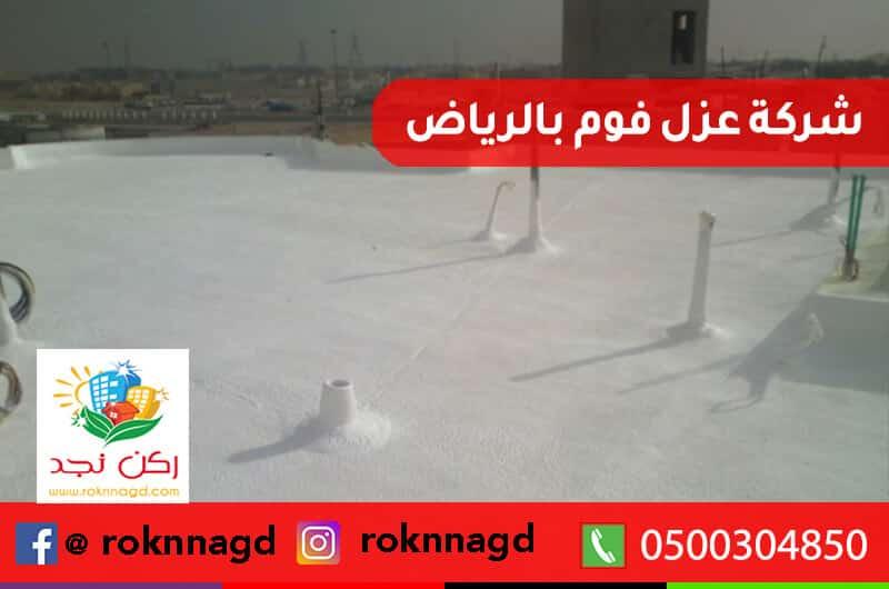 Foam insulation company in Riyadh - شركة عزل فوم بالرياض بخصم 25% - ضمان لمدة ١٠ سنوات