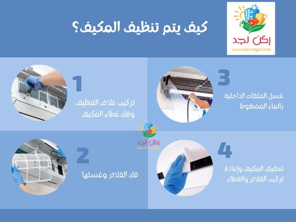 شركة تنظيف مكيفات في مكة